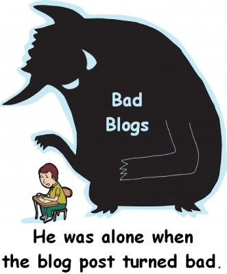 bad blog post taxonomy - content strategy and styles