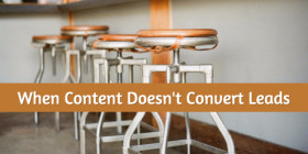 conversion rate on content marketing