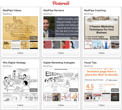 business pinterest digital marketing strategy