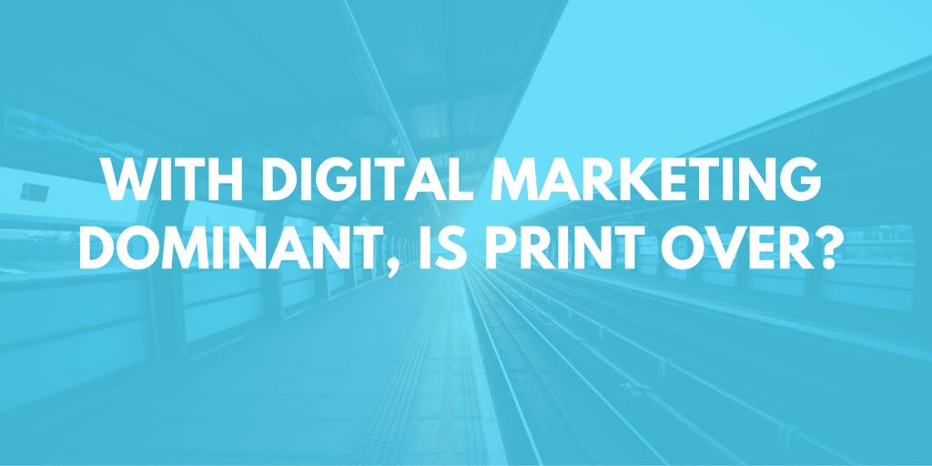 Digital vs. print media