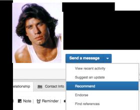 LinkedIn Networking Referral Marketing