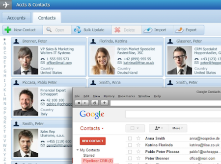e-mail and crm marketing