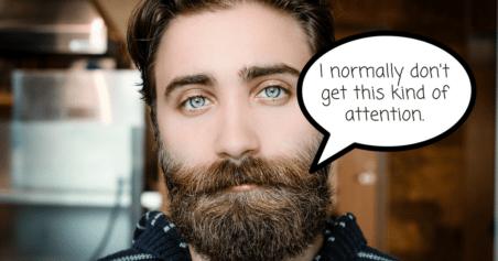 Bearded Man - Marketing Campaign Design